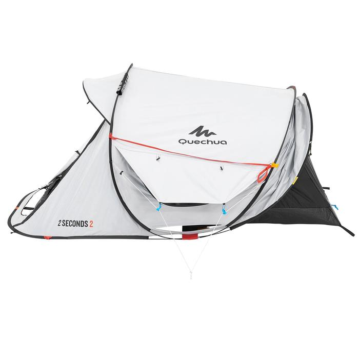 Tente de camping 2 SECONDS 2 FRESH&BLACK | 2 personnes blanche - 192824
