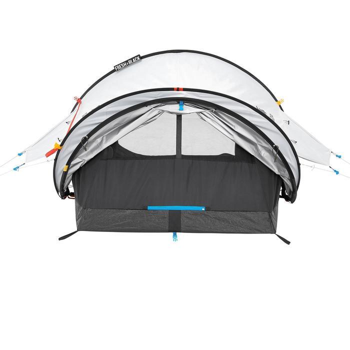 Tente de camping 2 SECONDS 2 FRESH&BLACK | 2 personnes blanche - 192827