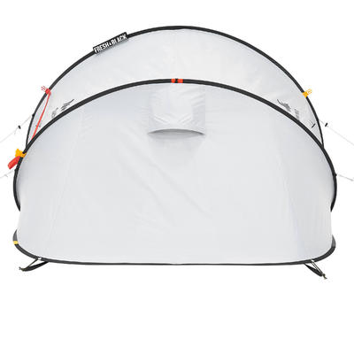 2 SECOND 2 FRESH&BLACK _PIPE_ 2 person camping tent white