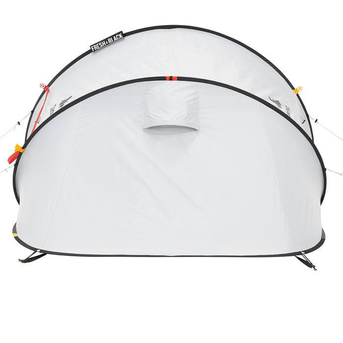 Pop up tent 2 Seconds 2 Fresh & Black I 2 personen wit - 192828