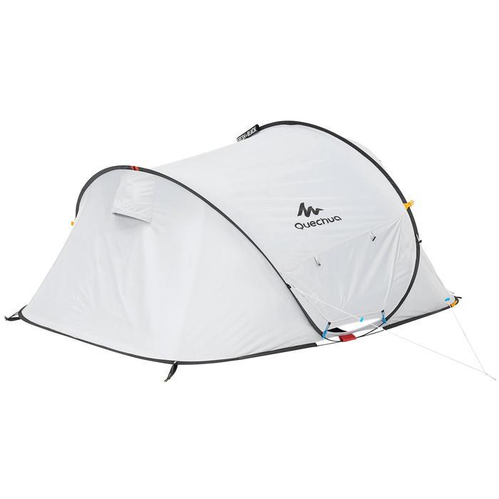 Pop up tent 2 Seconds 2 Fresh & Black I 2 personen wit - 192829