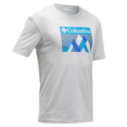 T-shirt de Caminhada na Montanha - Bellport Homem Cinza