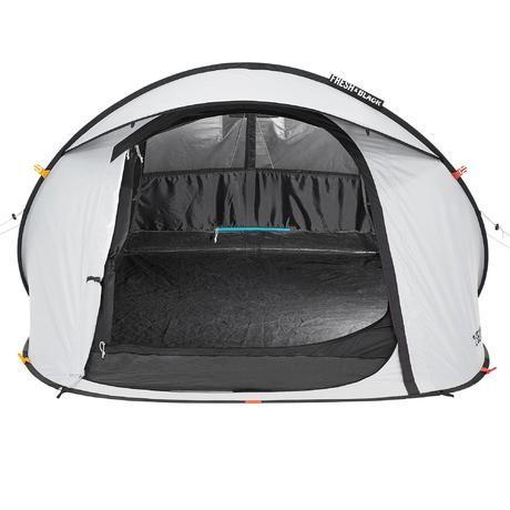 tente de camping 2 seconds easy 2 personnes fresh black quechua. Black Bedroom Furniture Sets. Home Design Ideas