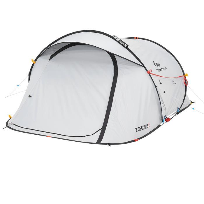 Tente de camping 2 SECONDS 2 FRESH&BLACK | 2 personnes blanche - 192833