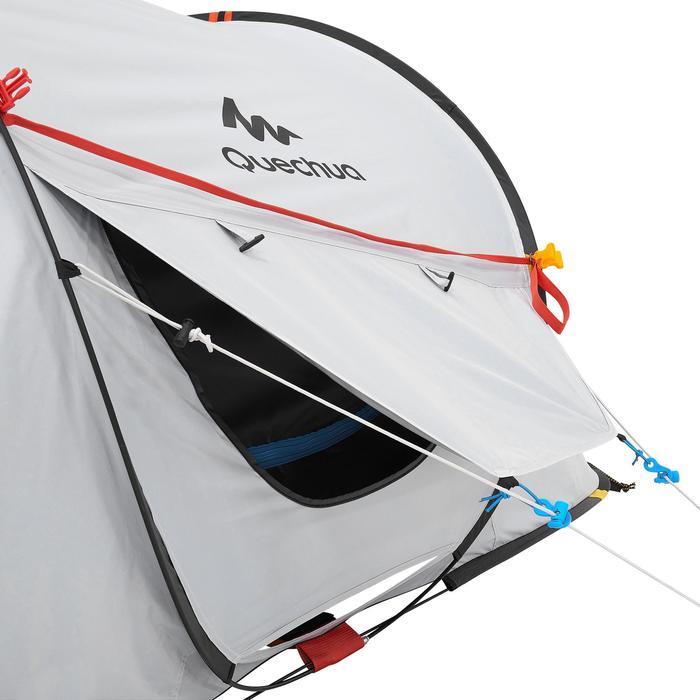 Pop up tent 2 Seconds 2 Fresh & Black I 2 personen wit - 192836