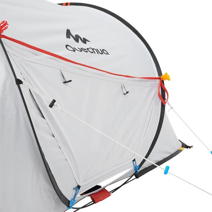 Tente de camping 2 SECONDS 2 FRESH&BLACK | 2 personnes blanche - 192837