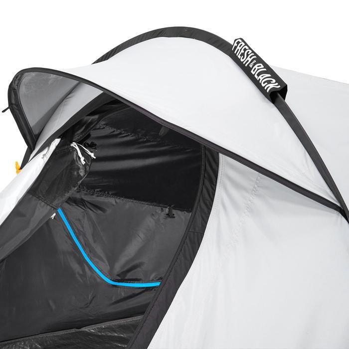 Pop up tent 2 Seconds 2 Fresh & Black I 2 personen wit - 192838