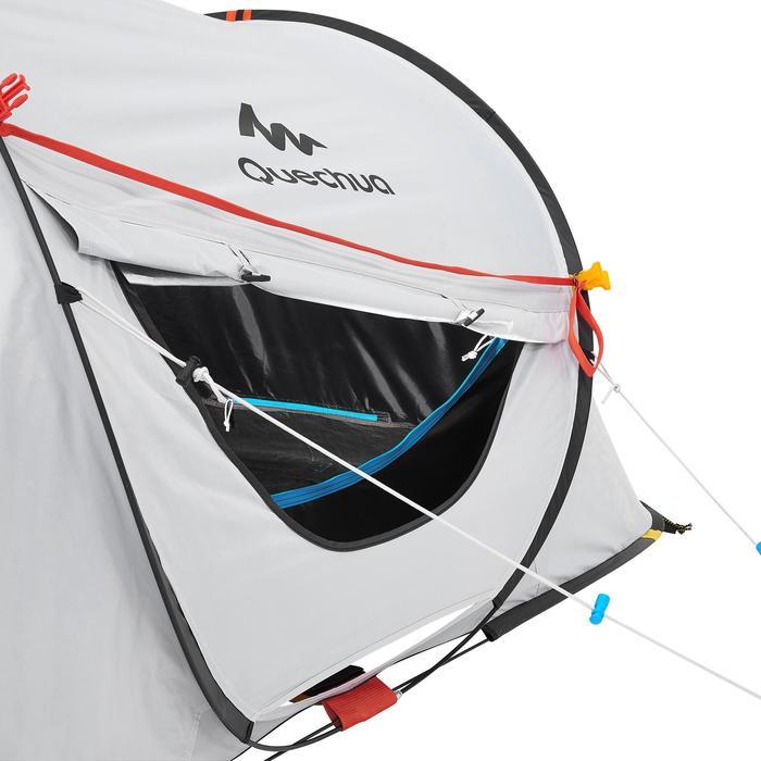 Pop up tent 2 Seconds 2 Fresh & Black I 2 personen wit
