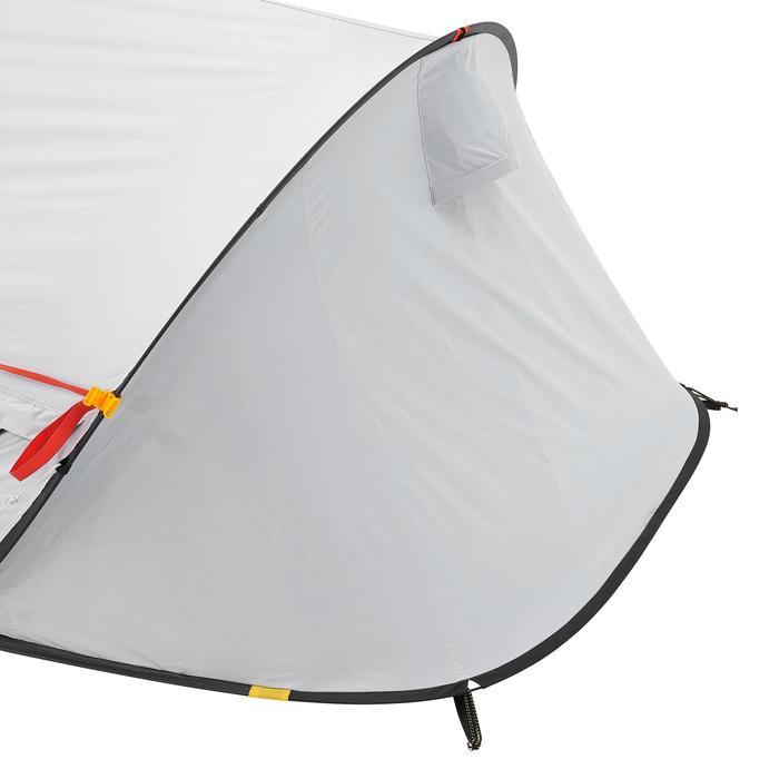 Pop up tent 2 Seconds 2 Fresh & Black I 2 personen wit - 192840