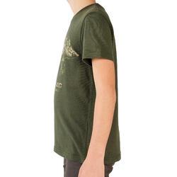 T-SHIRT Manches courtes JR LTD Sanglier Vert