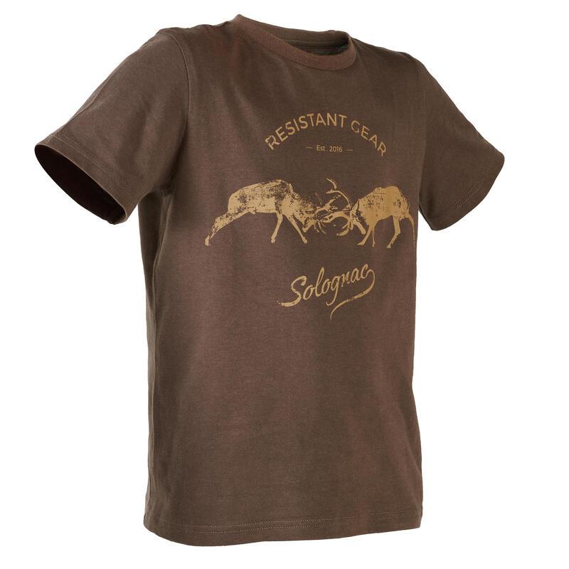 KIDS' Short-sleeve T-SHIRT LTD\n2 - Brown Deer