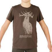 Junior SG-100 T-Shirt Brown Deer Print