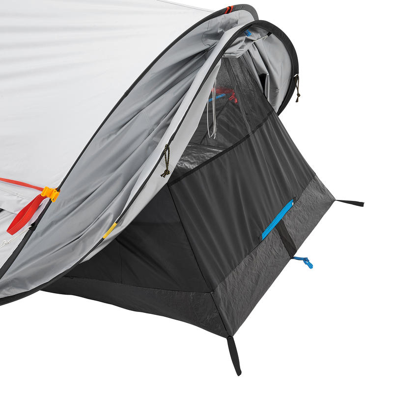 Mountain Hiking Camping Tent 2 PERSON - 2 SECONDS - FRESH&BLACK -