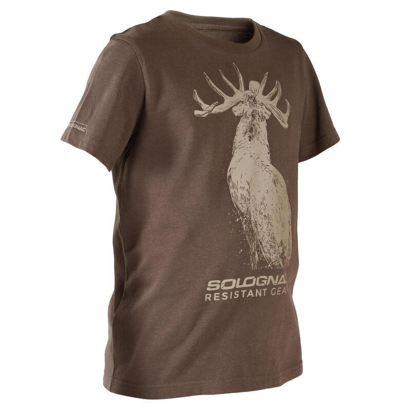 KIDS' Short-sleeve T-SHIRT LTD\n- Brown Deer