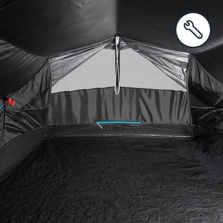 wurfzelt 2 second fresh black f r 2 personen wei quechua. Black Bedroom Furniture Sets. Home Design Ideas
