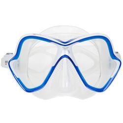 Masque de plongée sous-marine X-Vision bleu