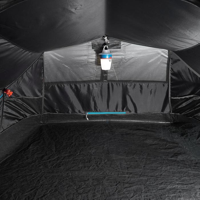 Pop up tent 2 Seconds 2 Fresh & Black I 2 personen wit - 192843