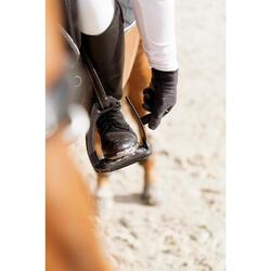Etriers équitation enfant et adulte 500 JUMPING noir