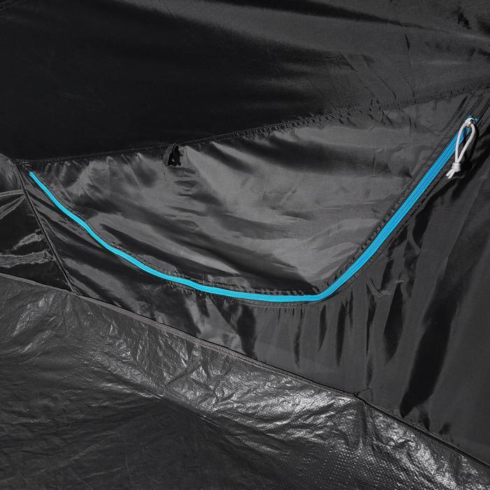 Pop up tent 2 Seconds 2 Fresh & Black I 2 personen wit - 192847