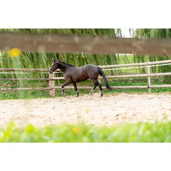 Gamaschen 580 Synthetik-Lammfell Pferd braun