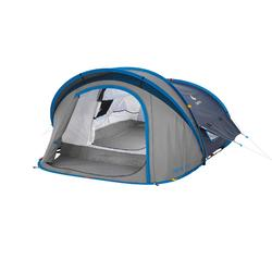 Tente de camping 2 SECONDS XL 2 AIR | 2 personnes bleue
