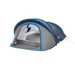 Tente de camping 2 SECONDS XL 2 AIR | 2 personnes bleue