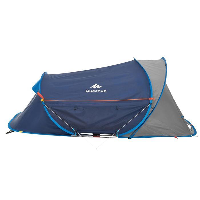 Air 2秒組裝XL雙人露營帳篷-藍色