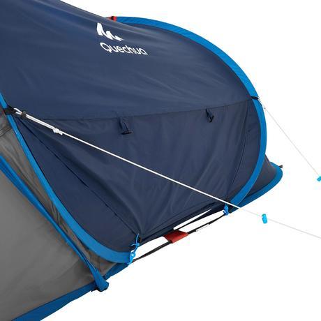 wurfzelt 2 seconds xl air f r 2 personen blau quechua. Black Bedroom Furniture Sets. Home Design Ideas