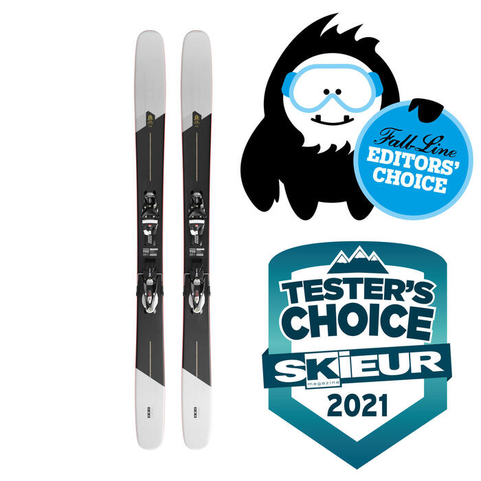 SKIS DE FREERIDE FR 900 POW CHASER 115 PACK SKI FIXATION