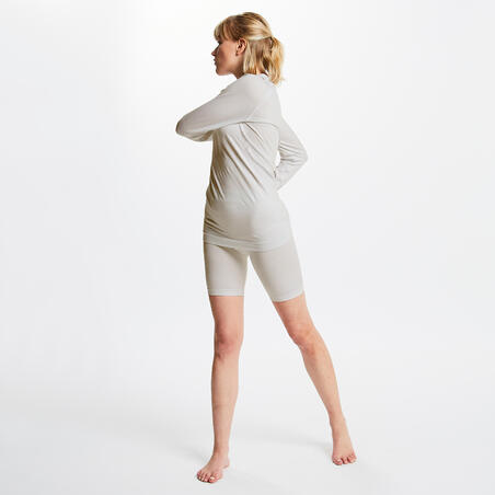 Keepdry 500 Adults' Football Long-Sleeved Base Layer - White