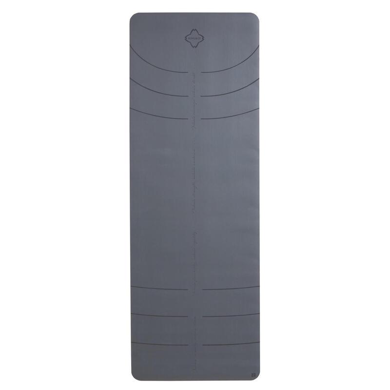 Podložka na jógu Grip+ 5 mm šedá