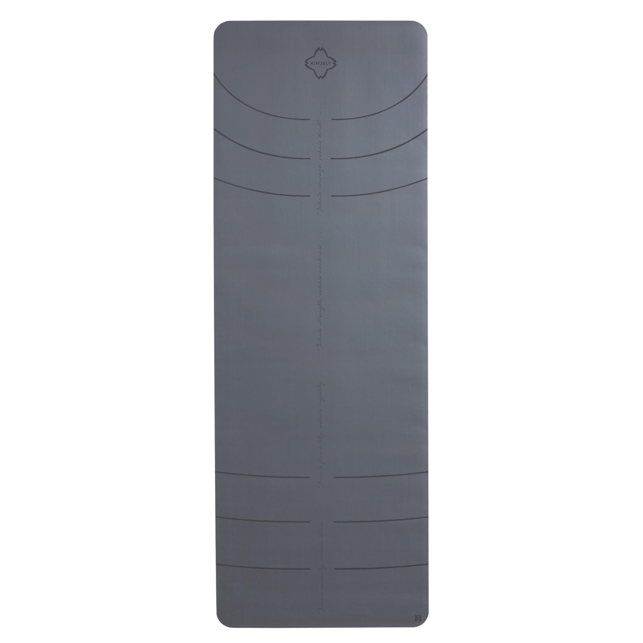 Saltea Yoga Grip+ 5mm Gri imagine