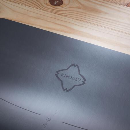 Grip+ Yoga Mat (5mm)  Grey - Kimjaly