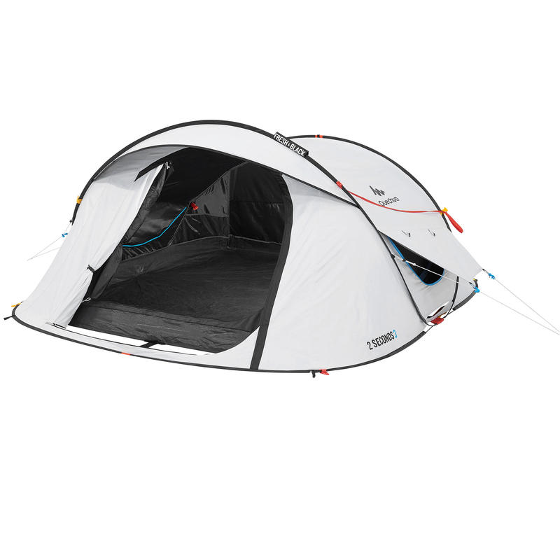 MOUNTAIN HIKING 3 PERSON 2 SECOND FRESH & BLACK CAMPING TENT