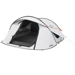 2 Seconds Fresh&Black 3 Person Camping Tent - White