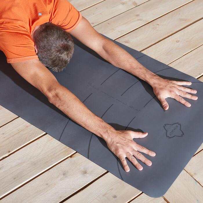 動態瑜珈墊Grip + 5mm - 灰色