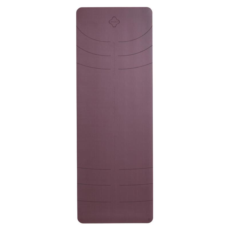 Podložka na jógu 5 mm vínová