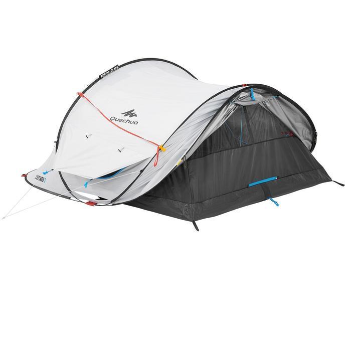 Tente de camping 2 SECONDS FRESH&BLACK 3 personnes blanche