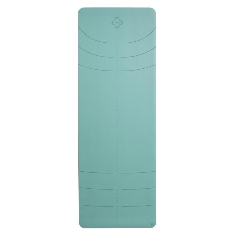 Tappetino yoga GRIP+ verde 185x65x0,3CM
