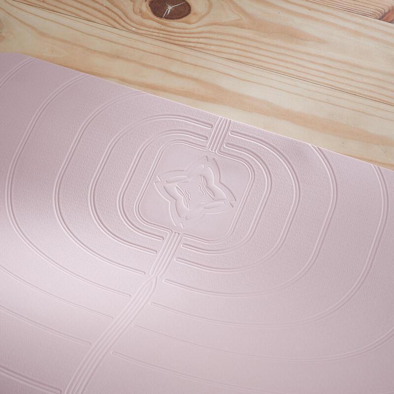Light Yoga Mat 5 mm - Pink