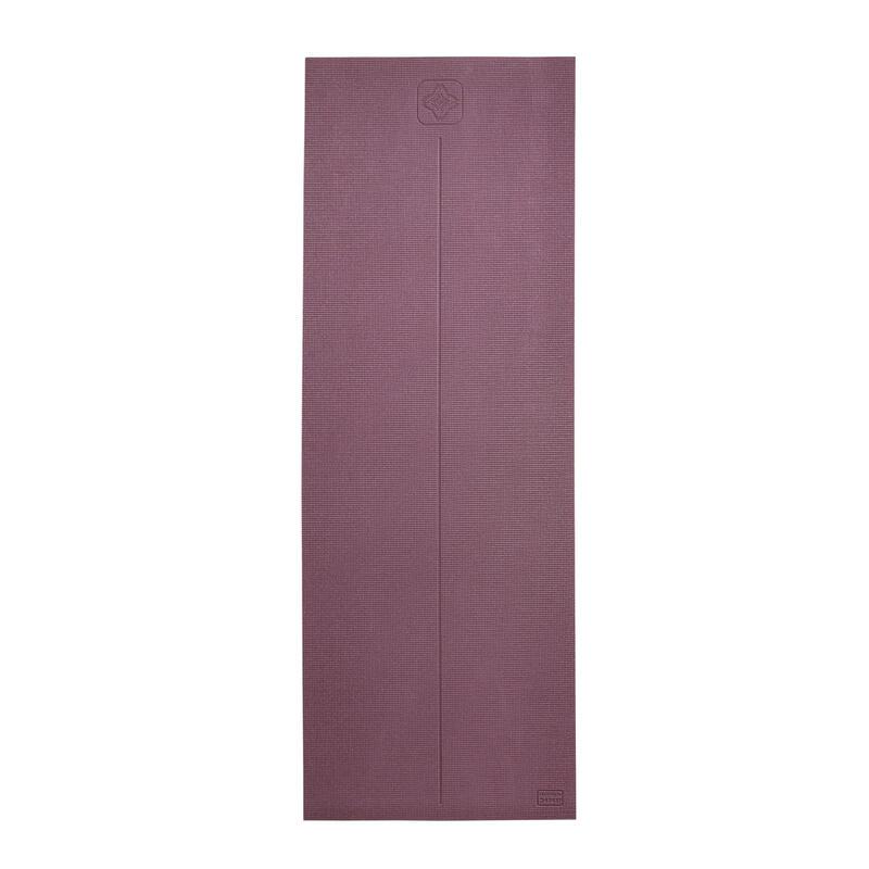 Tappetino yoga COMFORT 8mm bordeaux 173x61cm