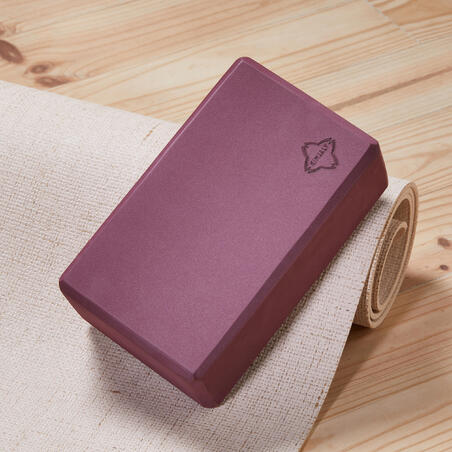 Yoga Foam Block - Burgundy