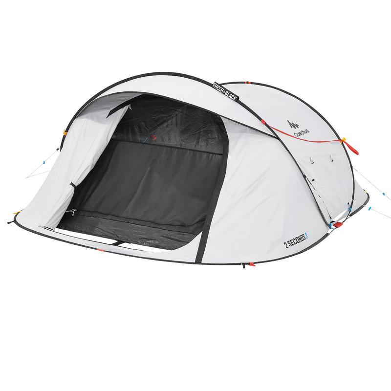 Tente de camping 2 SECONDS 3 FRESH&BLACK _PIPE_ 3 personnes