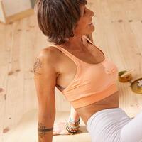 Gentle yoga sports bra