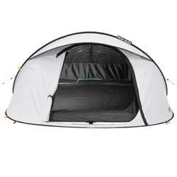 quechua pop up tent 2 seconds 3 fresh black i 3 personen wit. Black Bedroom Furniture Sets. Home Design Ideas
