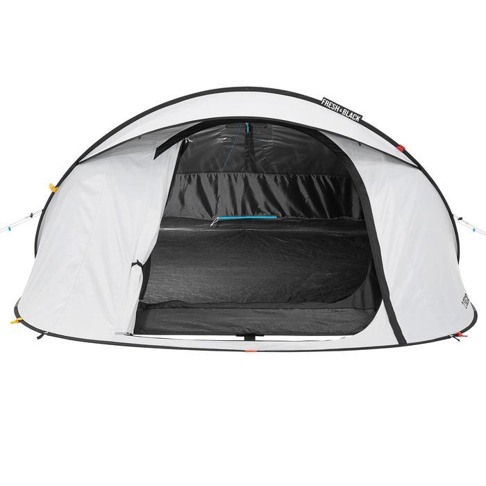 Pop up tent 2 Seconds 3 Fresh & Black I 3 personen wit - 192906