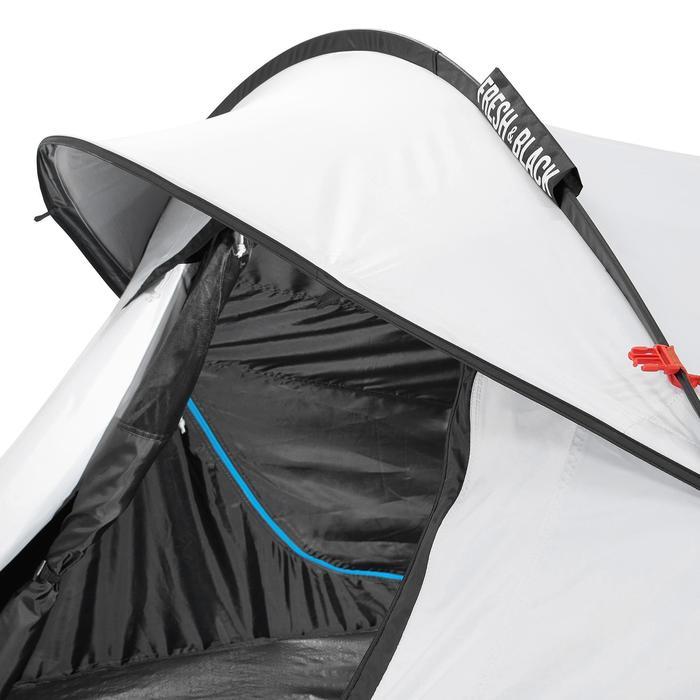 Pop up tent 2 Seconds 3 Fresh & Black I 3 personen wit - 192908