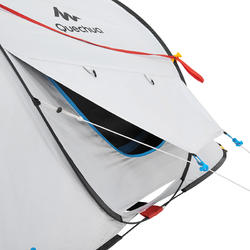 Pop up tent 2 Seconds 3 Fresh&Black I 3 personen wit - 192909