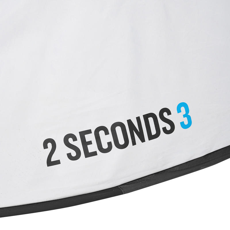 2 SECOND 3 FRESH&BLACK _PIPE_ 3 person camping tent white