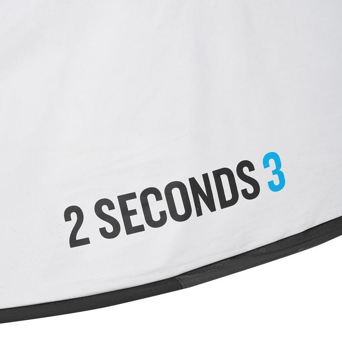 Pop up tent 2 Seconds 3 Fresh & Black I 3 personen wit - 192910